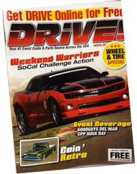 Cover of Drive Magazine