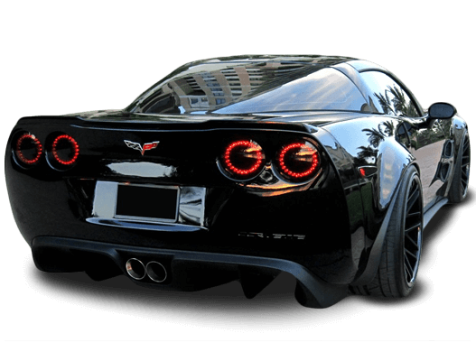 Corvette with Oracle tail lights