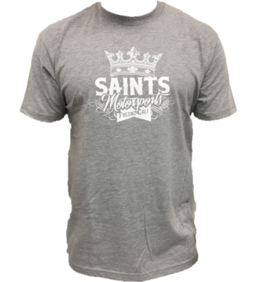 Gray Saints Motorsports T-Shirt